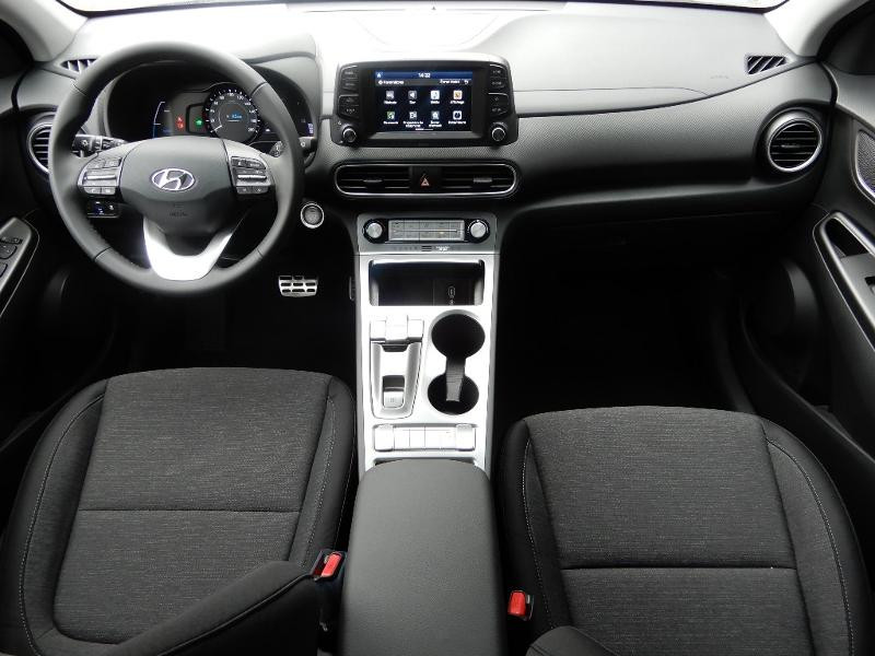 Hyundai Kona Electric 136ch Intuitive Euro6d-T EVAP 2cv Gris occasion à CHAUMONT - photo n°4