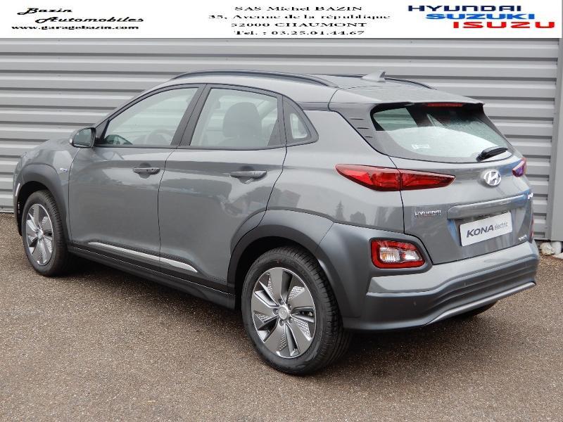 Hyundai Kona Electric 136ch Intuitive Euro6d-T EVAP 2cv Gris occasion à CHAUMONT - photo n°3
