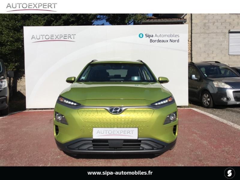Hyundai Kona Electric 204ch Executive Euro6d-T EVAP Jaune occasion à Le Bouscat - photo n°8