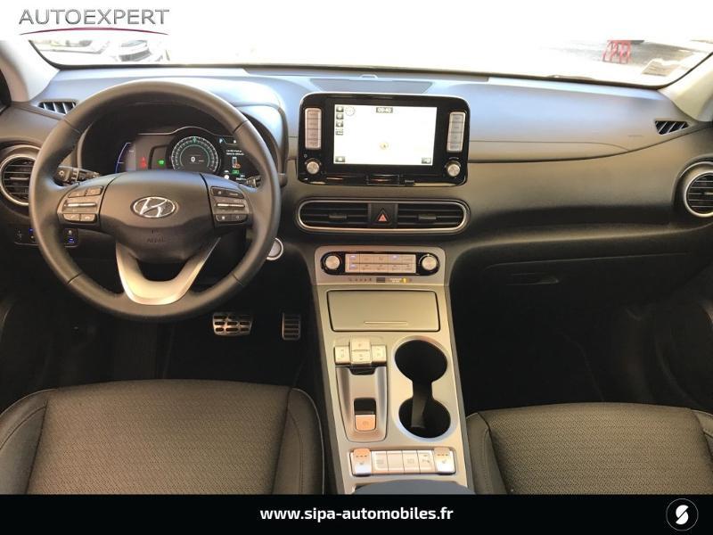 Hyundai Kona Electric 204ch Executive Euro6d-T EVAP Jaune occasion à Le Bouscat - photo n°3