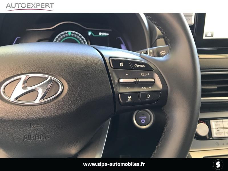 Hyundai Kona Electric 204ch Executive Euro6d-T EVAP Jaune occasion à Le Bouscat - photo n°17