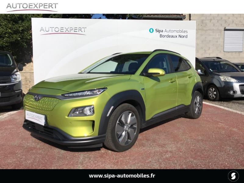 Hyundai Kona Electric 204ch Executive Euro6d-T EVAP Jaune occasion à Le Bouscat