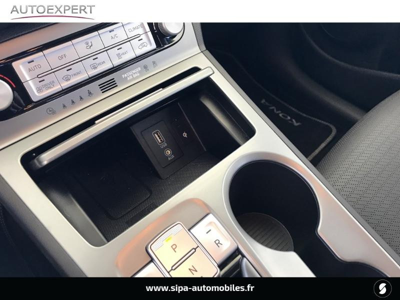Hyundai Kona Electric 204ch Executive Euro6d-T EVAP Jaune occasion à Le Bouscat - photo n°15