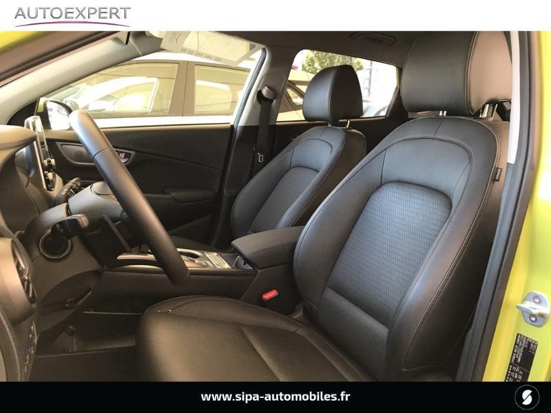 Hyundai Kona Electric 204ch Executive Euro6d-T EVAP Jaune occasion à Le Bouscat - photo n°4