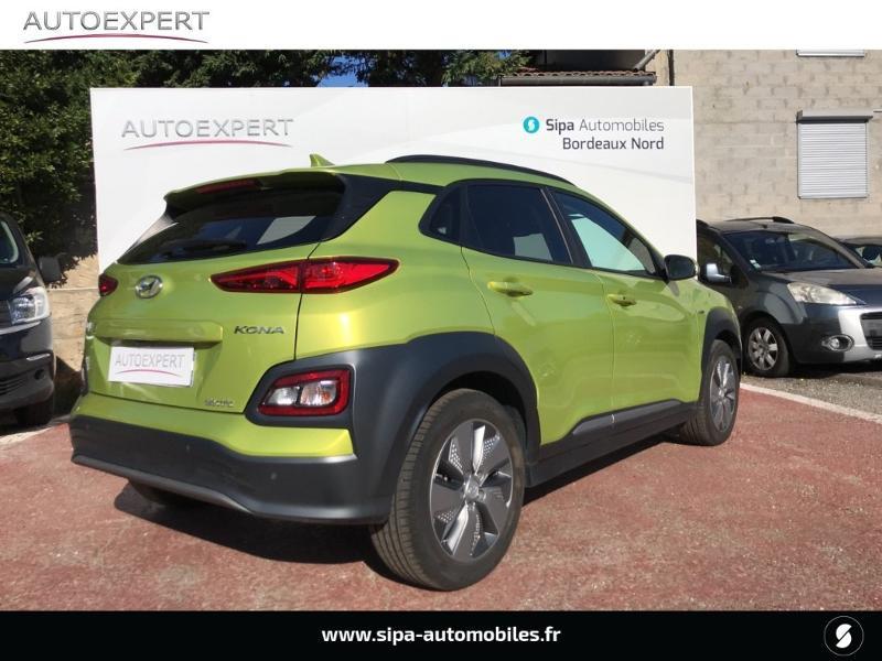 Hyundai Kona Electric 204ch Executive Euro6d-T EVAP Jaune occasion à Le Bouscat - photo n°2
