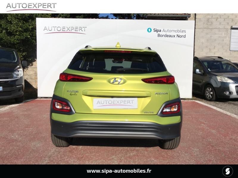 Hyundai Kona Electric 204ch Executive Euro6d-T EVAP Jaune occasion à Le Bouscat - photo n°9