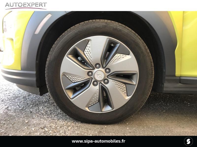 Hyundai Kona Electric 204ch Executive Euro6d-T EVAP Jaune occasion à Le Bouscat - photo n°7