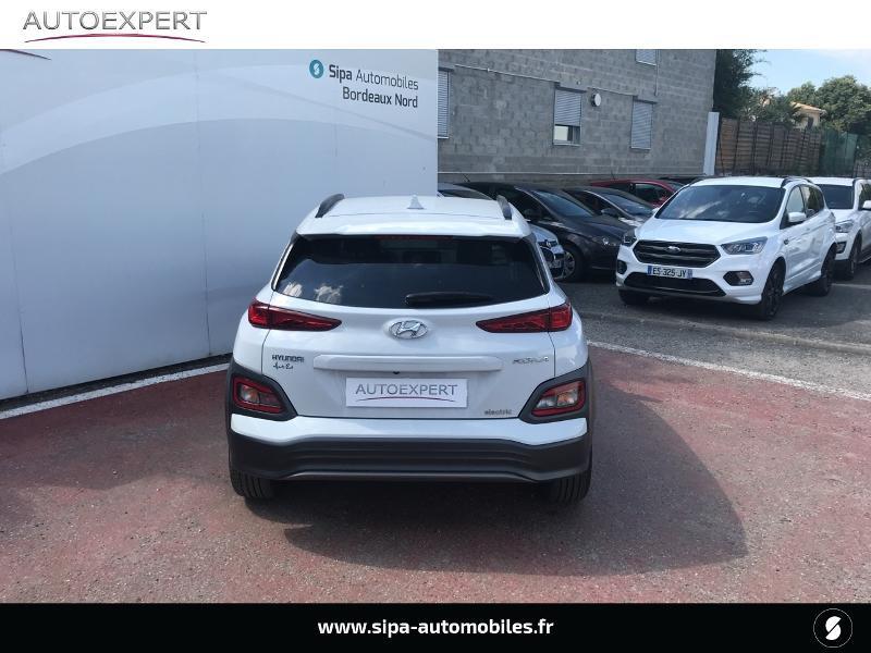 Hyundai Kona Electric 204ch Executive Blanc occasion à Le Bouscat - photo n°9