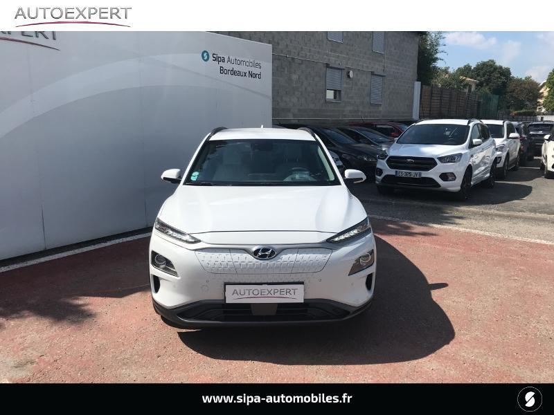 Hyundai Kona Electric 204ch Executive Blanc occasion à Le Bouscat - photo n°8