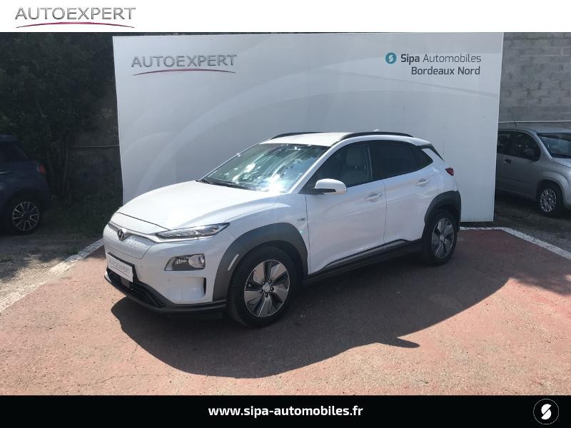 Hyundai Kona Electric 204ch Executive Blanc occasion à Le Bouscat