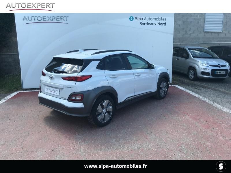Hyundai Kona Electric 204ch Executive Blanc occasion à Le Bouscat - photo n°2