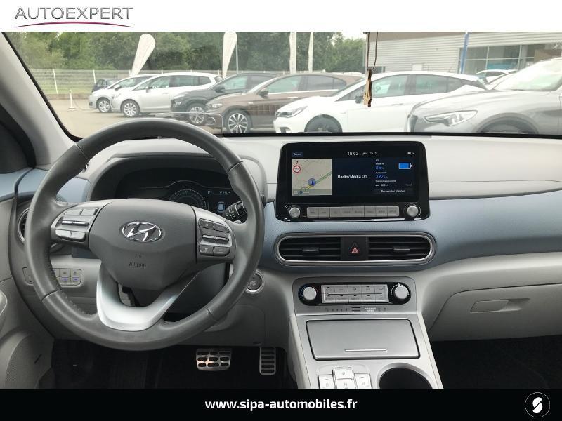 Hyundai Kona Electric 64kWh - 204ch Executive Gris occasion à Muret - photo n°3