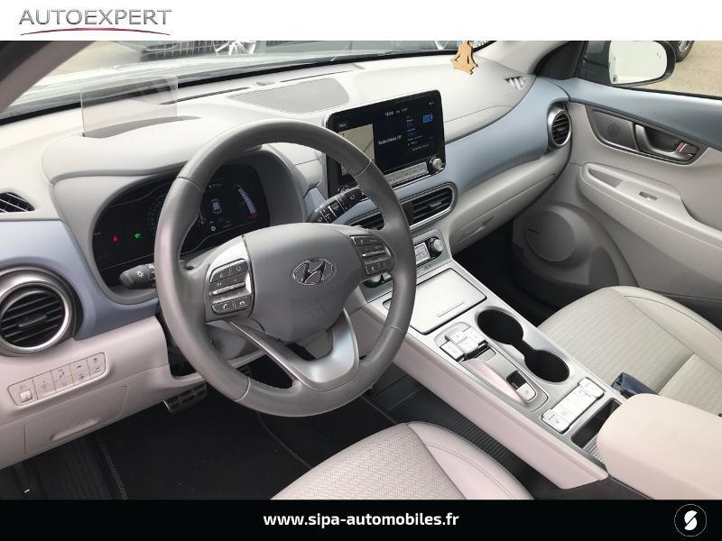 Hyundai Kona Electric 64kWh - 204ch Executive Gris occasion à Muret - photo n°12