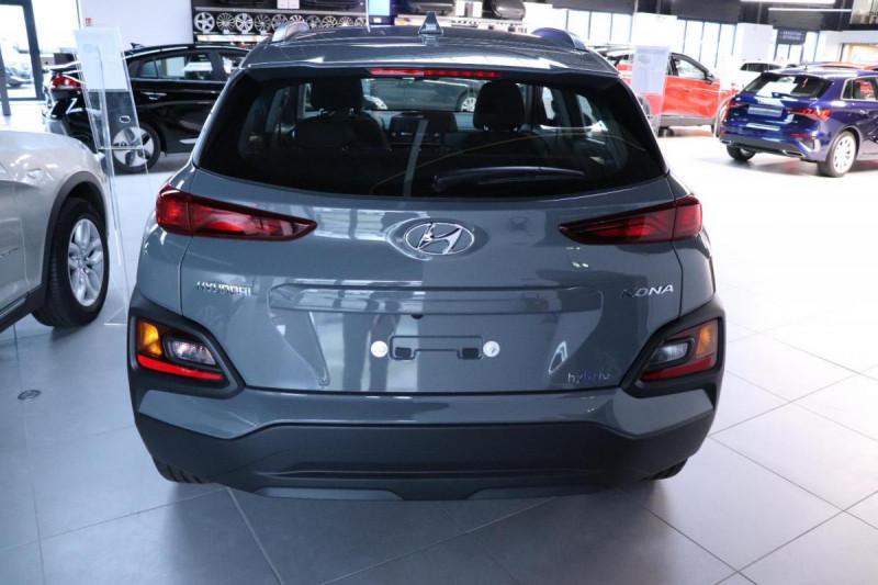 Hyundai Kona HYBRID 1.6 GDi Intuitive Gris occasion à Mérignac - photo n°4