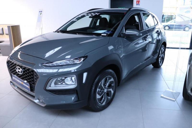 Hyundai Kona HYBRID 1.6 GDi Intuitive Gris occasion à Mérignac - photo n°2