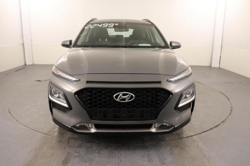 Hyundai Kona HYBRID 1.6 GDi Intuitive Gris occasion à Aubière