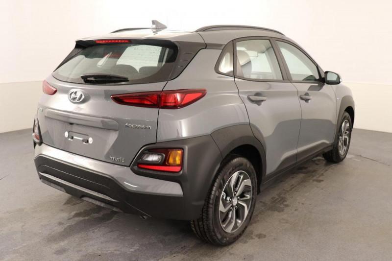 Hyundai Kona HYBRID 1.6 GDi Intuitive Gris occasion à Aubière - photo n°4
