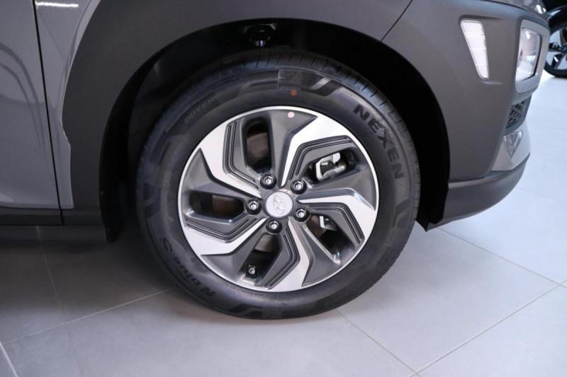 Hyundai Kona HYBRID 1.6 GDi Intuitive Gris occasion à Mérignac - photo n°9