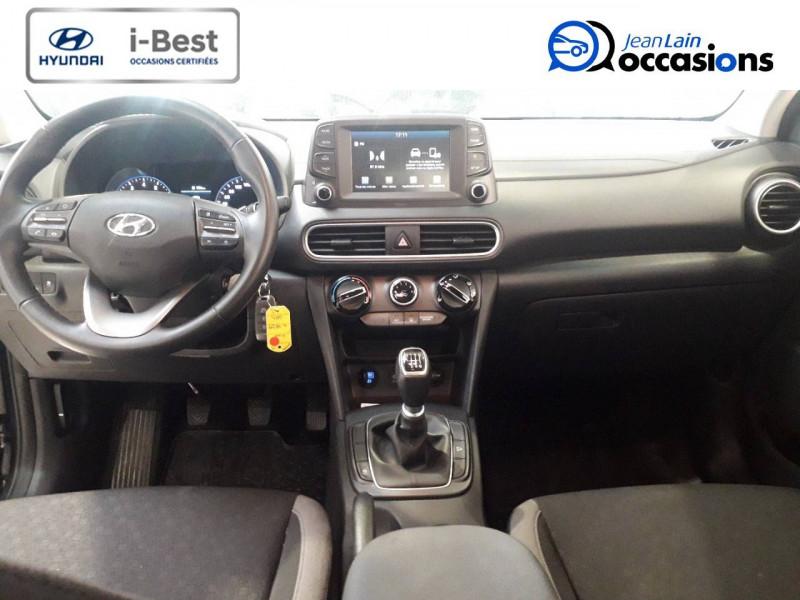 Hyundai Kona Kona 1.0 T-GDi 120  5p Gris occasion à Crolles - photo n°17