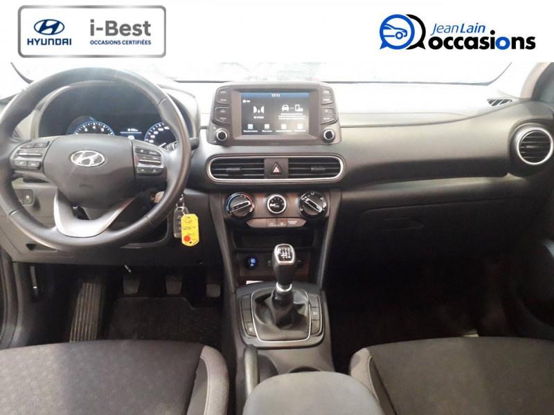 Hyundai Kona Kona 1.0 T-GDi 120  5p Gris occasion à Crolles - photo n°18