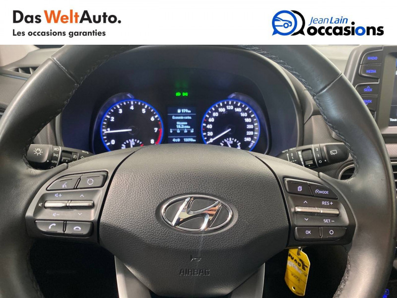 Hyundai Kona Kona 1.0 T-GDi 120 FAP TYPE LIVE 5p Vert occasion à Seynod - photo n°12