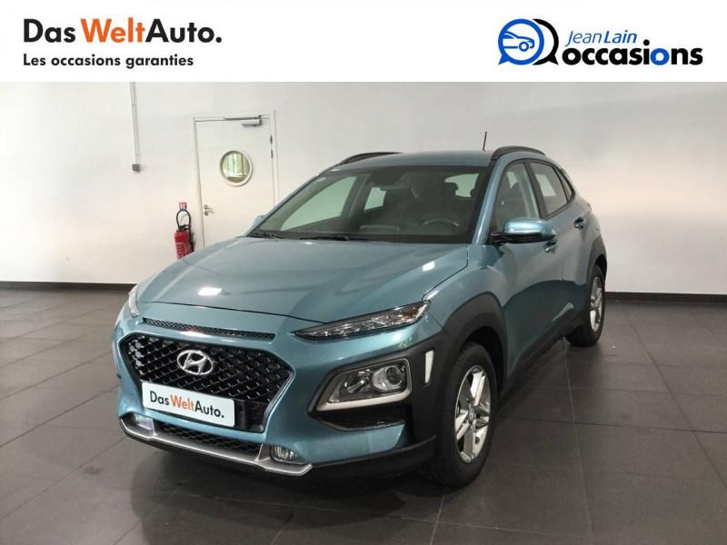 Hyundai Kona Kona 1.0 T-GDi 120 FAP TYPE LIVE 5p Vert occasion à Seynod