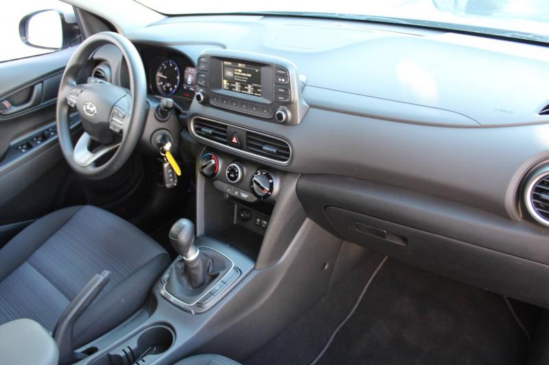 Hyundai Kona Kona 1.6 CRDi 115  5p Gris occasion à Meythet - photo n°5