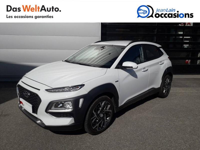 Hyundai Kona Kona 1.6 GDi Hybrid Edition #1 5p Blanc occasion à Crolles