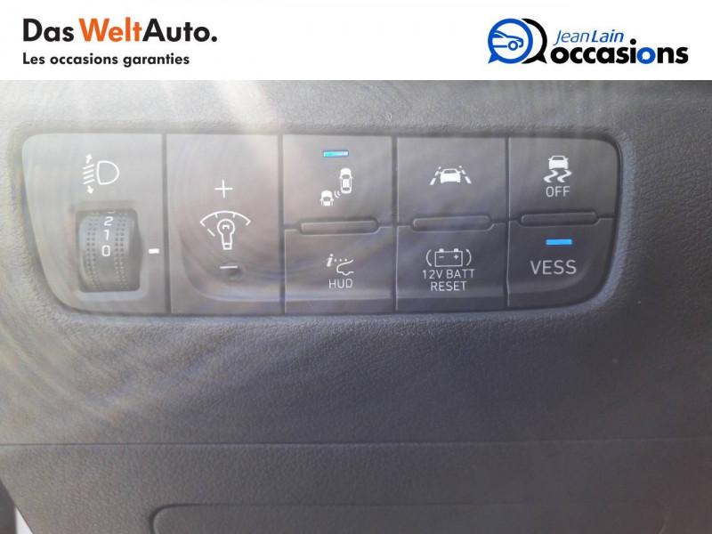 Hyundai Kona Kona 1.6 GDi Hybrid Edition #1 5p Blanc occasion à Crolles - photo n°12