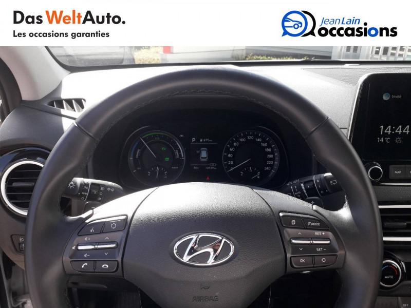 Hyundai Kona Kona 1.6 GDi Hybrid Edition #1 5p Blanc occasion à Crolles - photo n°13