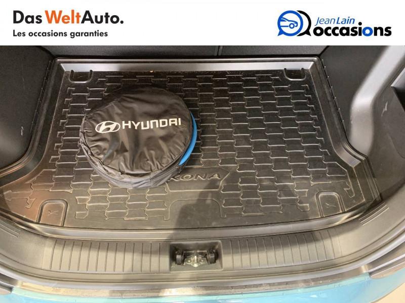 Hyundai Kona Kona Electrique 64 kWh - 204 ch Intuitive 5p Bleu occasion à Albertville - photo n°10