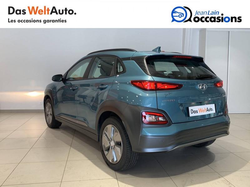 Hyundai Kona Kona Electrique 64 kWh - 204 ch Intuitive 5p Bleu occasion à Albertville - photo n°7