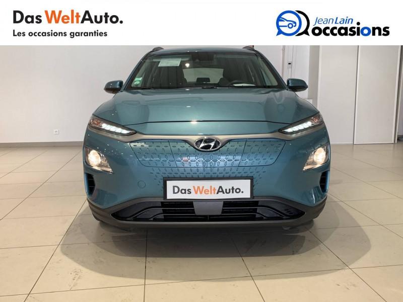 Hyundai Kona Kona Electrique 64 kWh - 204 ch Intuitive 5p Bleu occasion à Albertville - photo n°2
