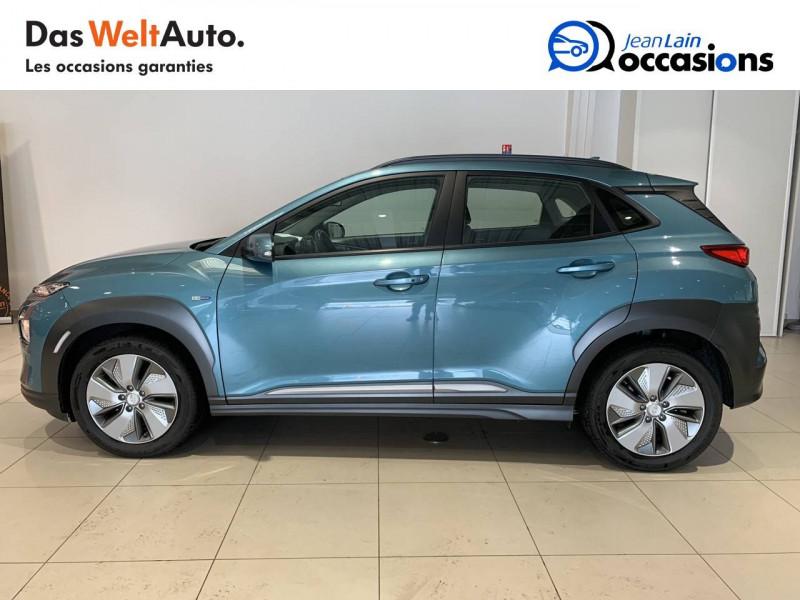 Hyundai Kona Kona Electrique 64 kWh - 204 ch Intuitive 5p Bleu occasion à Albertville - photo n°8