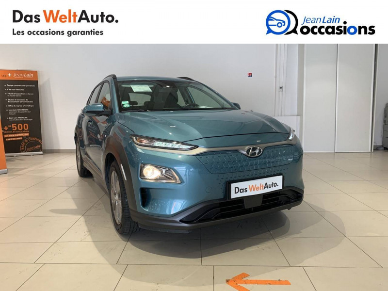 Hyundai Kona Kona Electrique 64 kWh - 204 ch Intuitive 5p Bleu occasion à Albertville - photo n°3
