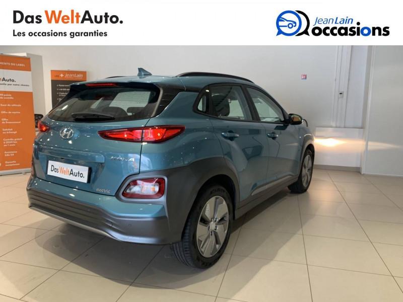 Hyundai Kona Kona Electrique 64 kWh - 204 ch Intuitive 5p Bleu occasion à Albertville - photo n°5