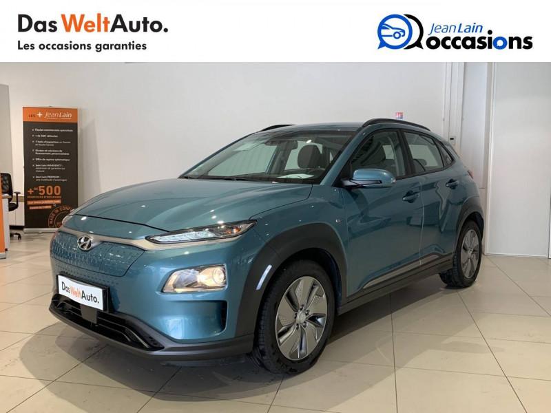 Hyundai Kona Kona Electrique 64 kWh - 204 ch Intuitive 5p Bleu occasion à Albertville