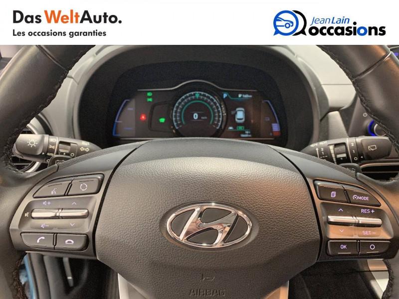 Hyundai Kona Kona Electrique 64 kWh - 204 ch Intuitive 5p Bleu occasion à Albertville - photo n°12