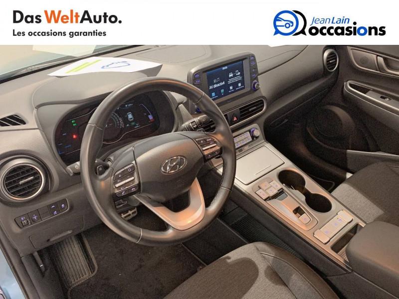 Hyundai Kona Kona Electrique 64 kWh - 204 ch Intuitive 5p Bleu occasion à Albertville - photo n°11