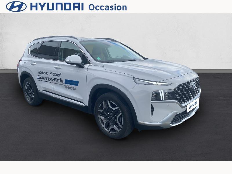 Hyundai Santa Fe 1.6 T-GDI 265ch Plug-In HTRAC Executive BVA6 Blanc occasion à CASTRES - photo n°3