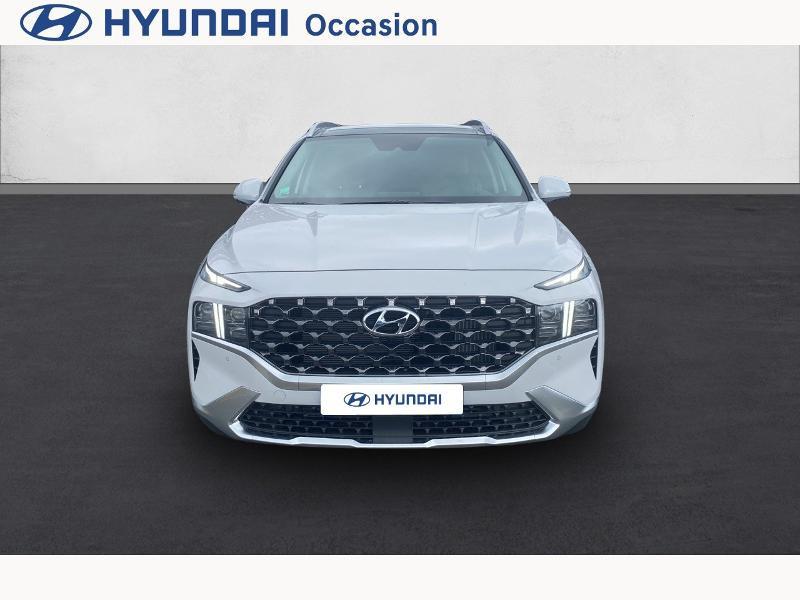 Hyundai Santa Fe 1.6 T-GDI 265ch Plug-In HTRAC Executive BVA6 Blanc occasion à CASTRES - photo n°2