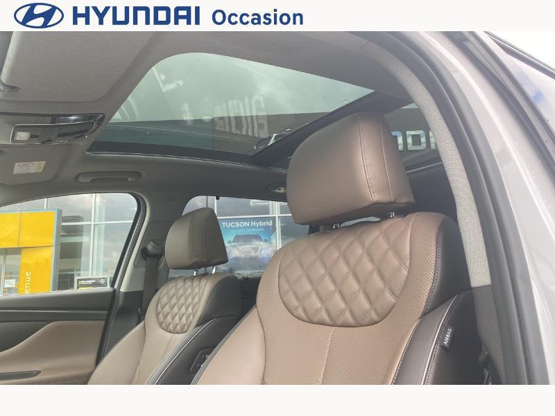 Hyundai Santa Fe 1.6 T-GDI 265ch Plug-In HTRAC Executive BVA6 Blanc occasion à CASTRES - photo n°18