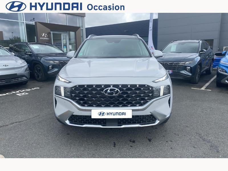 Hyundai Santa Fe 1.6 T-GDI 265ch Plug-In HTRAC Executive BVA6 Blanc occasion à CASTRES - photo n°20