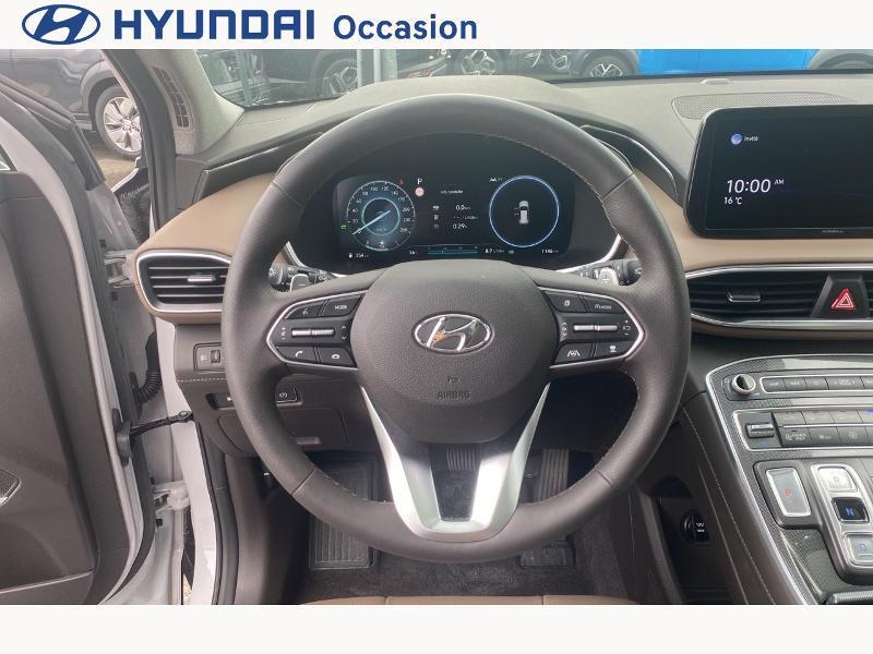 Hyundai Santa Fe 1.6 T-GDI 265ch Plug-In HTRAC Executive BVA6 Blanc occasion à CASTRES - photo n°13