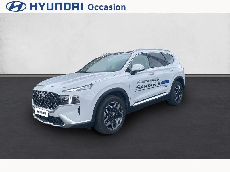 Hyundai Santa Fe 1.6 T-GDI 265ch Plug-In HTRAC Executive BVA6 Blanc occasion à CASTRES