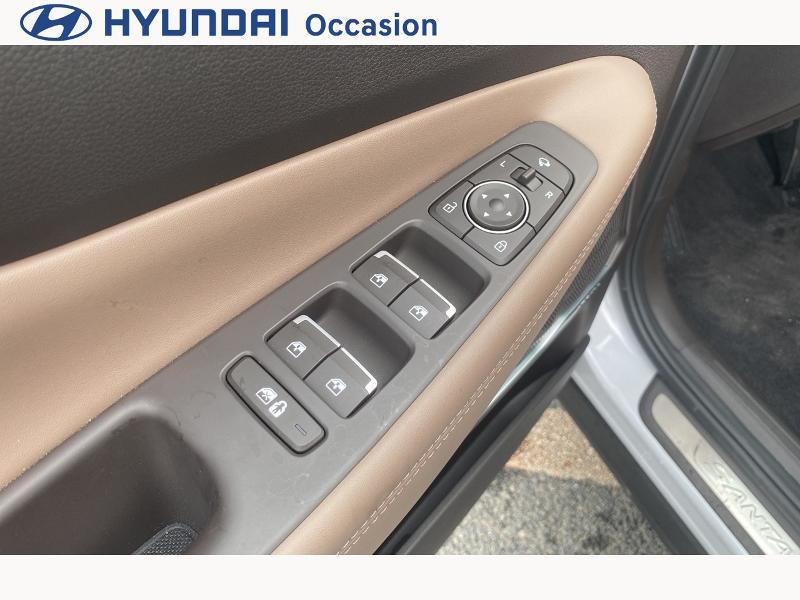 Hyundai Santa Fe 1.6 T-GDI 265ch Plug-In HTRAC Executive BVA6 Blanc occasion à CASTRES - photo n°12