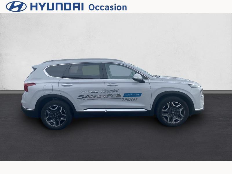 Hyundai Santa Fe 1.6 T-GDI 265ch Plug-In HTRAC Executive BVA6 Blanc occasion à CASTRES - photo n°4