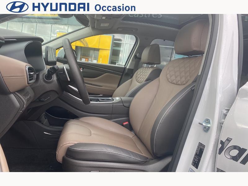 Hyundai Santa Fe 1.6 T-GDI 265ch Plug-In HTRAC Executive BVA6 Blanc occasion à CASTRES - photo n°9