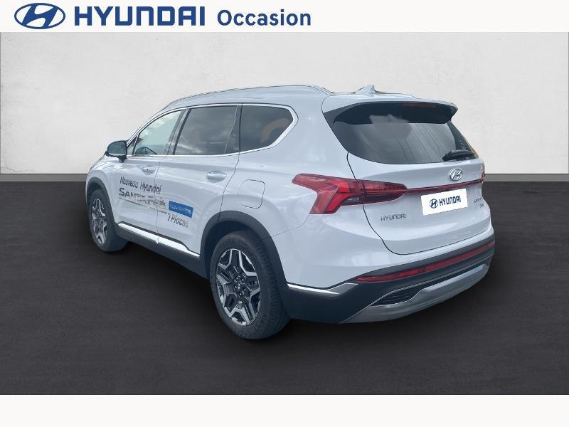 Hyundai Santa Fe 1.6 T-GDI 265ch Plug-In HTRAC Executive BVA6 Blanc occasion à CASTRES - photo n°7