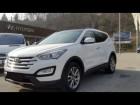 Hyundai Santa Fe 2.0 CRDI 150 Blanc à Beaupuy 31